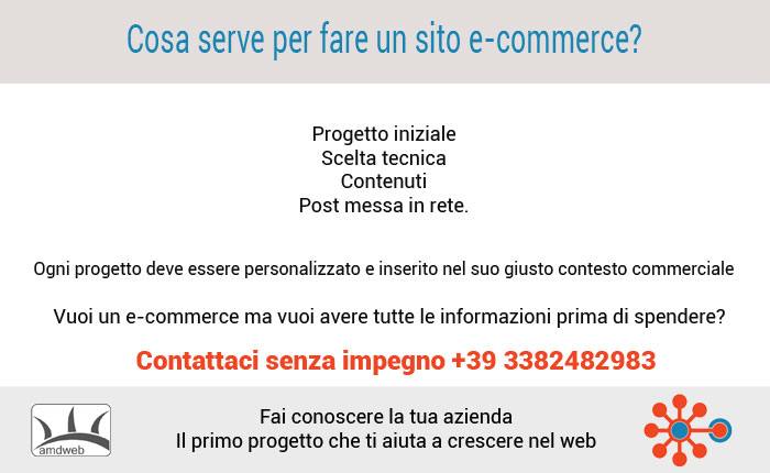 Cosa serve per fare un e-commerce?